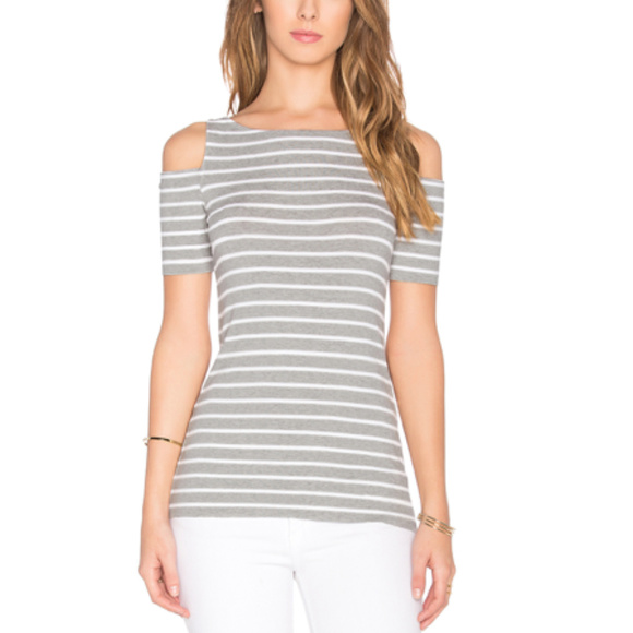 58a0952ef6bd0 Bailey 44 - Striped Short Sleeve Deneuve Top
